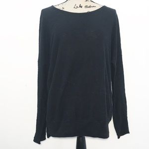Vince black knit sweater
